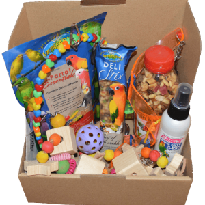 The Birdie Bundle - Australian Monthly Subscription Box for Birds
